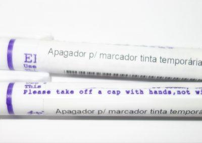 Apagador para marcador de tinta temporária