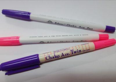 Marcadores de Tinta Temporária